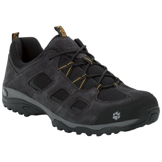 Jack Wolfskin Vojo Hike 2 Low Men, kolor: black / burly yellow