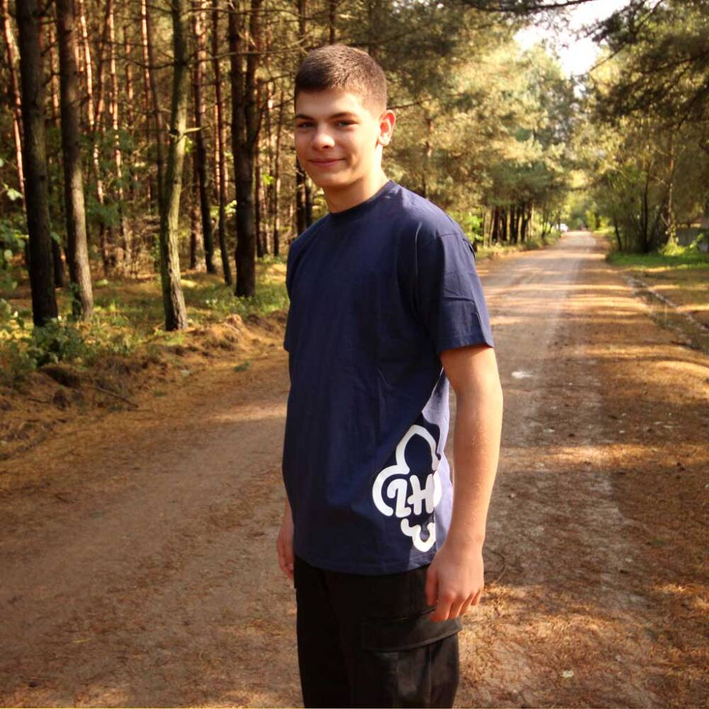 520e49a77 Koszulka z logo ZHP na boku - t-shirt harcerski - Sklep WGL.pl ...