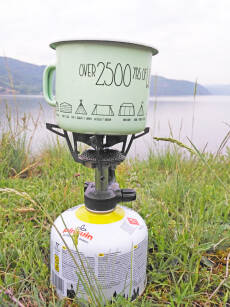 Kubek metalowy emaliowany 400ml Namioty - Over 2500 yrs of wild camping