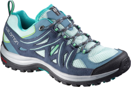 Buty damskie Salomon Ellipse 2 Aero Women, kolor: blue/slateblue/teal - turkusowe