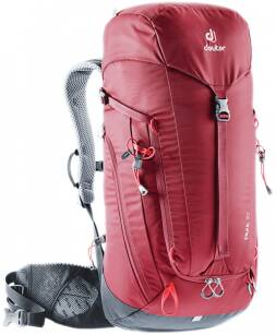 DEUTER Trail 30 Cranberry-Graphite - plecak trekkingowy na weekend