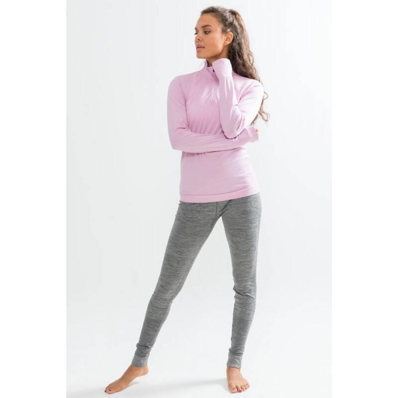 a8c1f21cfd576b Kalesony termoaktywne damskie Craft Fuseknit Comfort - kolor grey melange.  Dostępność: ...