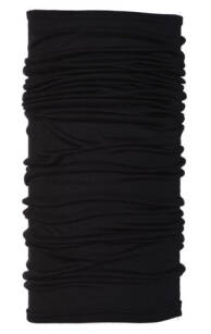 Chusta Buff Lightweight Merino Wool Solid Black