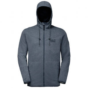 Polar męski Jack Wolfskin Tongari Hooded Jacket - z kapturem