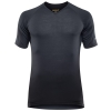 Męska koszulka Devold Breeze V-Neck black