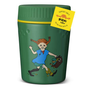 PRIMUS Trail Break Lunch Jug Pippi green 400 ml - termos obiadowy z Pippi Långstrump / Pippi Pończoszanka