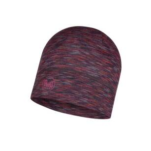 BUFF Lightweight Merino Wool Hat Shale Grey Multi Stripes - cienka i lekka sportowa czapka merynosowa
