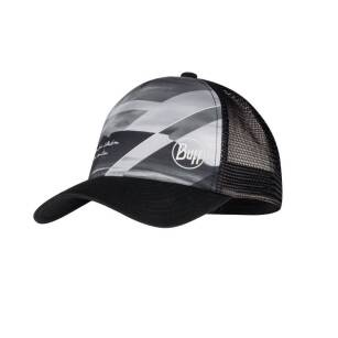 BUFF Trucker Cap Table Mountain Black - czapka z daszkiem siatkowa