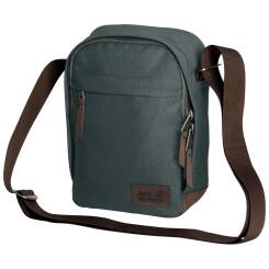 Torba na ramię Jack Wolfskin Heathrow, kolor: Greenish Grey