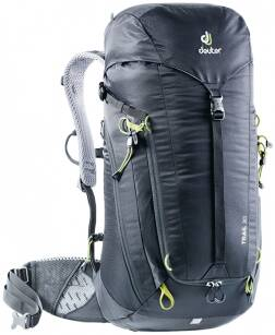 DEUTER Trail 30 Black-Graphite - plecak trekkingowy na weekend