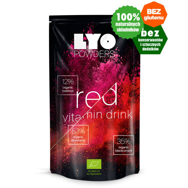 Lyo Powders Red Vitamin Drink
