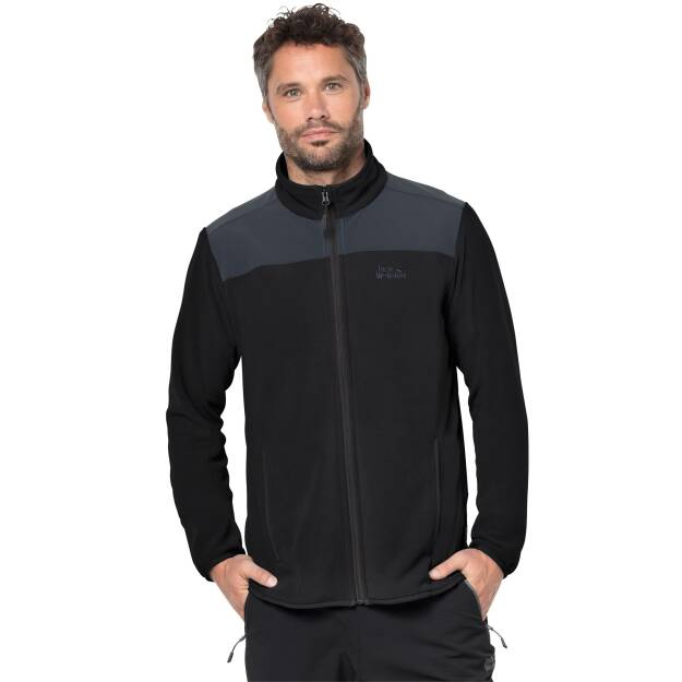 Polar męski Jack Wolfskin Performance Flex Jacket black