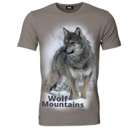 Koszulka T-Shirt Wolf Mountains