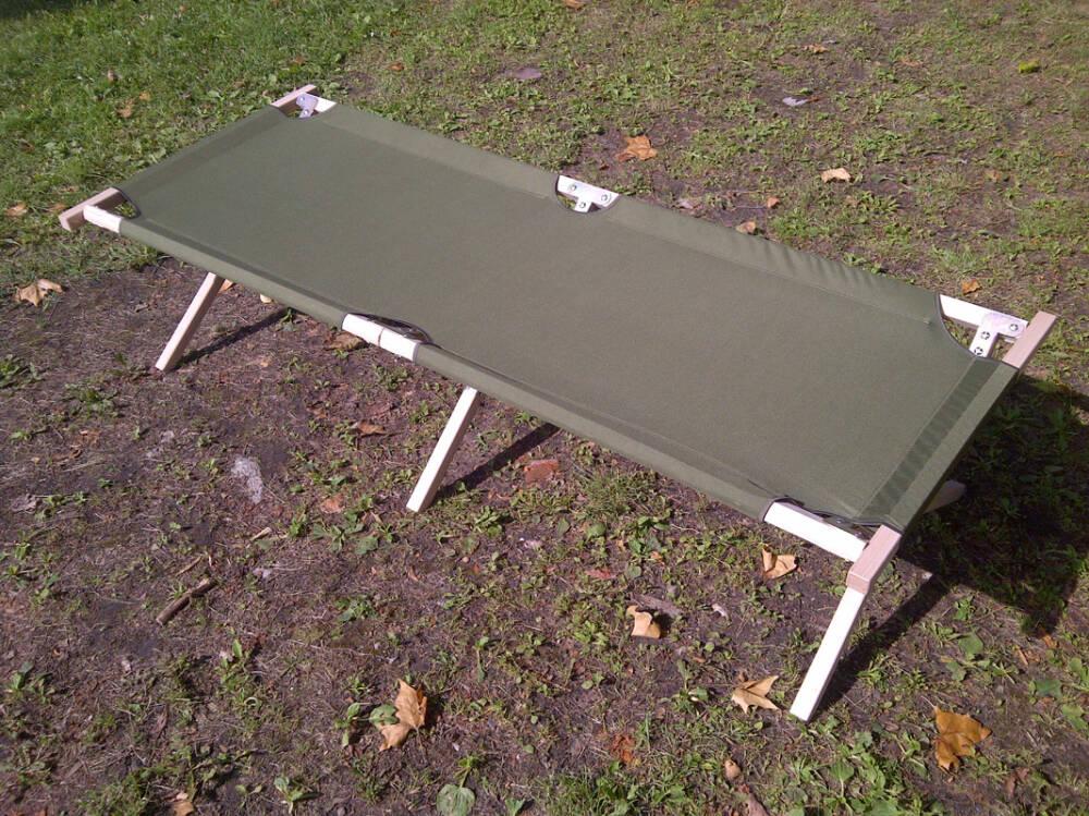 łóżko Polowe Kanadyjka Składana Wojskowa I Harcerska