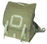 fa88988dd2a32 Plecak Kostka Zielony Wojskowy Brezentowy - Nowy Oryginalny (szerokie  szelki)