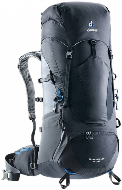 Deuter ACT Lite 50+10, kolor:  black-graphite (czarny)