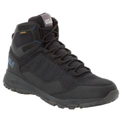 Buty Jack Wolfskin Maze Texapore Mid Men - kolor: Black / Blue