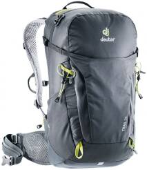 Plecak Deuter Trail 26 - kolor: black-graphite