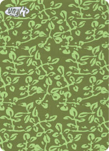 Chusta 4 Fun Standard - Leaves Green
