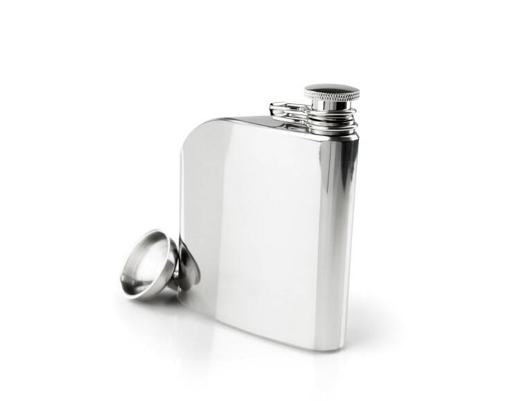 GSI Glacier Stainless Steel Trad Flask - 6 us fl. oz